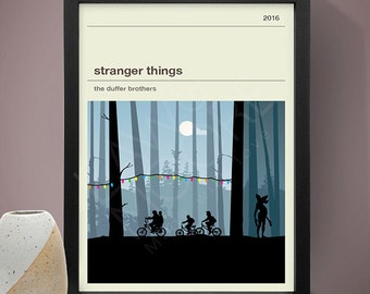 Stranger Things Poster, TV Print, Print, Poster