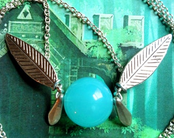 Ocarina of Time Navi-Inspired fairy necklace