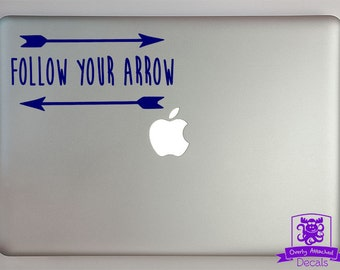 Follow your Arrow with Arrows Decal Macbook Laptop