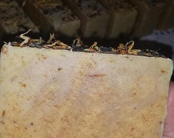 Ylang Ylang Vanilla Musk Handcrafted Luxury Silk Soap