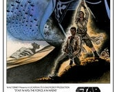 Star Wars The Force Awakens inspired original 11x17 movie poster art print reproduction