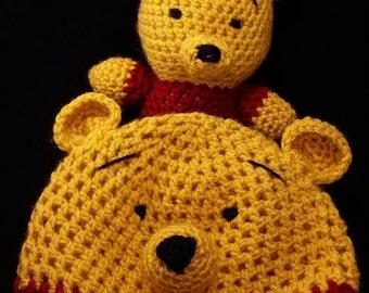 Winnie the Pooh Crochet Hat and Amigurumi