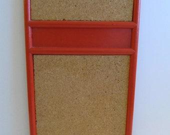 Message Board, Orange Bulletin Boards, Cork Board, Bulletin Boards, Office, Office Supplies, Kitchen, Calendars, Organization, Cork Boards