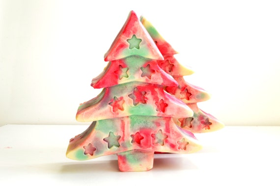 Big Christmas Tree Soap . Christmas Gift  . Christmas Decor Soap . Christmas Favor Soap .  Christmas  Flavour Soap  Pumpkin Spice Soap