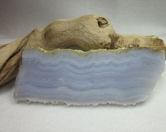 Blue Lace Agate Slab #1