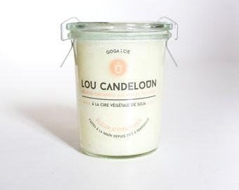 Wax candle soy ORANGE BLOSSOM 160 ml.
