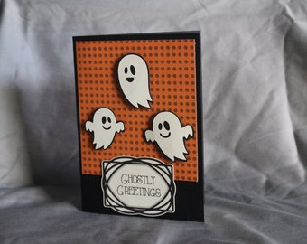 Halloween Ghost Card *Blank Inside*
