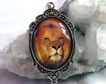 Victorian Lion pendant