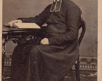 Antique Photo of Catholic Priest