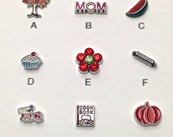 1 Floating charm of your choice #MIN CH 063
