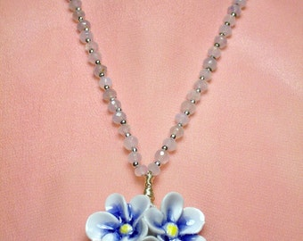 Blue Posies for your Mother or You