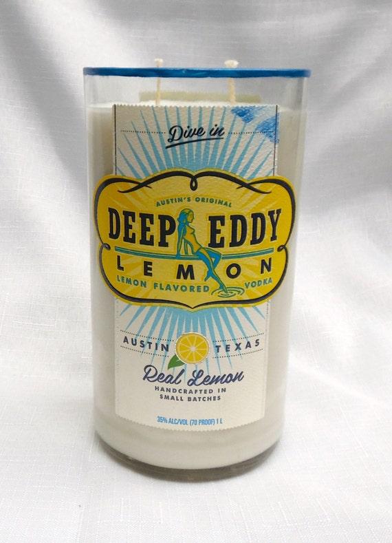 Deep Eddy Vodka Lemon Citrus Scented Soy Candle