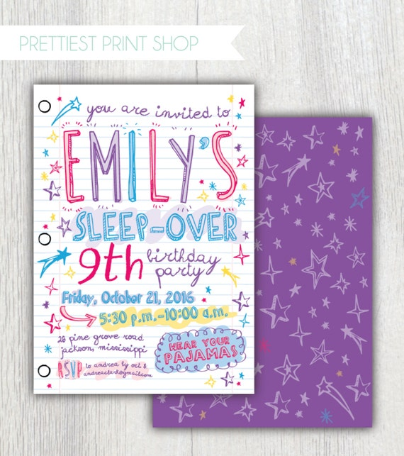 printable invitations paper