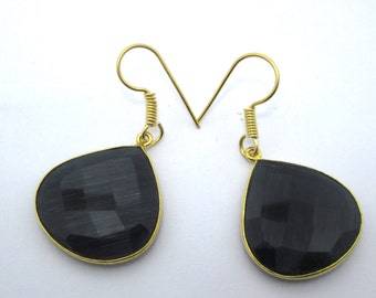 Elegant Bezel earrings