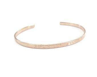 personalized latitude longitude gold bangle custom gps