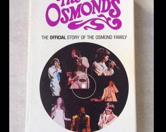 THE OSMONDS Osmond Brothers BOOK Donny & Marie 1978 ed. hardback biography