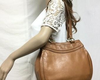 Free Ship,Leather bag, Brown, Leather,bag,purse, Shoulder Bag