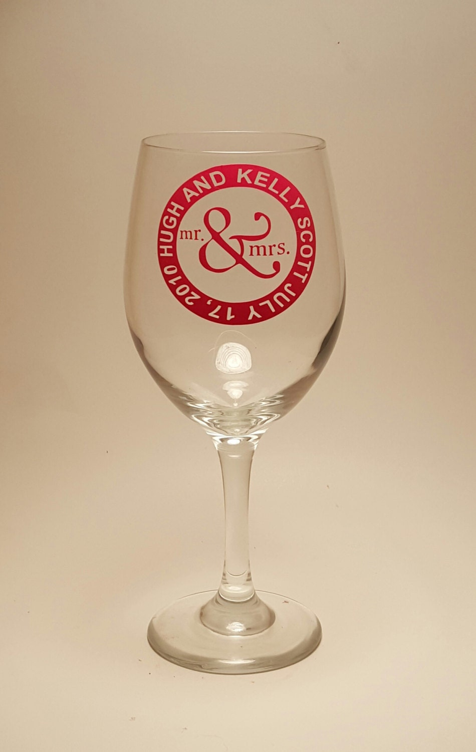 Mr And Mrs Wine Glass Wedding Customer Personalized Cheap Favors Gifts Fun