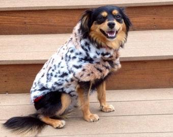 Fuax Fur Jacket with Lining, dog jacket, dog clothing, pet clothing, dog clothes, pet clothes, furry jackets for dogs, dogs, warm dog jacket