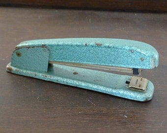 Retro Stapler, Vintage Sax 59 Stapler, Retro Desk Accessory