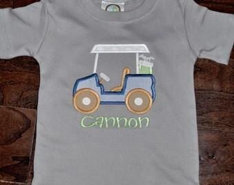 Golfcart Applique Shirt