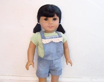 American Girl Doll Shortalls/Overalls