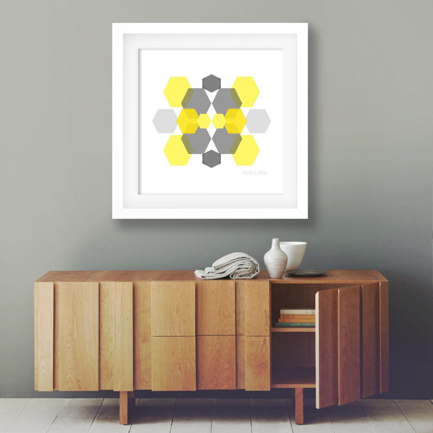 Modern Decor Living Room Mustard Yellow Decor Etsy