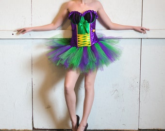 Superhero tutu- Halloween Tutu - Race Tutu -Adult Tutu -Costume-Bachelorette tutu- Color Run Tutu -Running Tutu -5K Tutu -Tutu -Fun Run Tutu