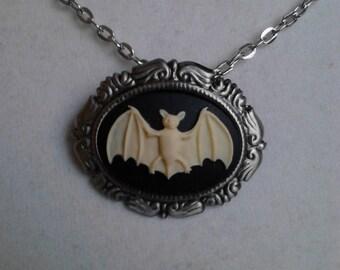 The Antique Bat necklace/brooch