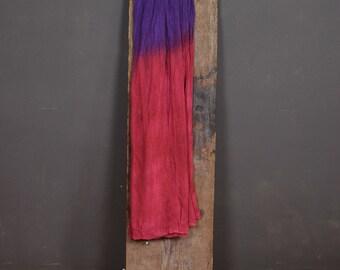 80s maxi wrap skirt indie boho tie dye