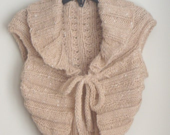 Hand Knit Shrug
