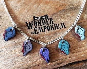 Daryl Dixon's Walker Ear Necklace. Walking Dead Inspired