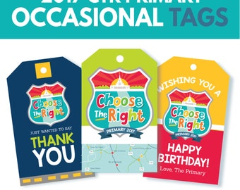 2017 LDS Primary Theme Tags