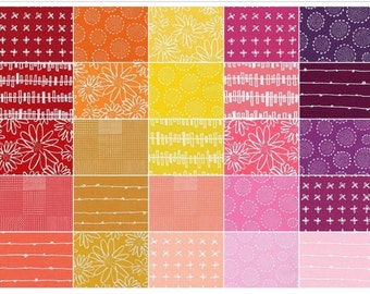 Items Similar To Blueberry Park Fabric Cool Colorstory Fat