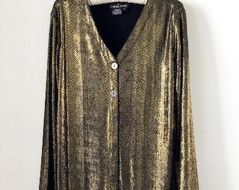 Vintage Gold Blouse