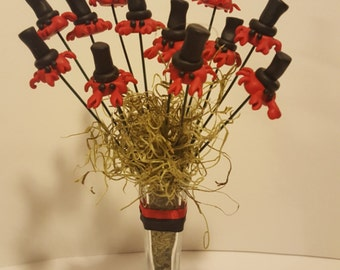 Top Hat Crab Clay Bouquet