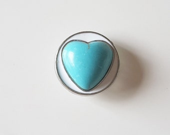 Beautiful Blue Snap-Gingersnap-Noosa Style Snaps-Poppers-Snap Button-Snap In Jewelry-Gift For Her-Destash-Celestial Luxuries
