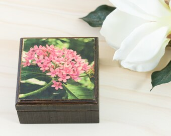 Flower Gift Box, Flower Box, Birthday Gifts for Her, Easter Box, Floral Box, Flower Gifts, Birthday Present for Mom, Jewelry Box