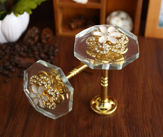 Glass Curtain Tiebacks Antique Gold Metal Decorative By Lbfeel