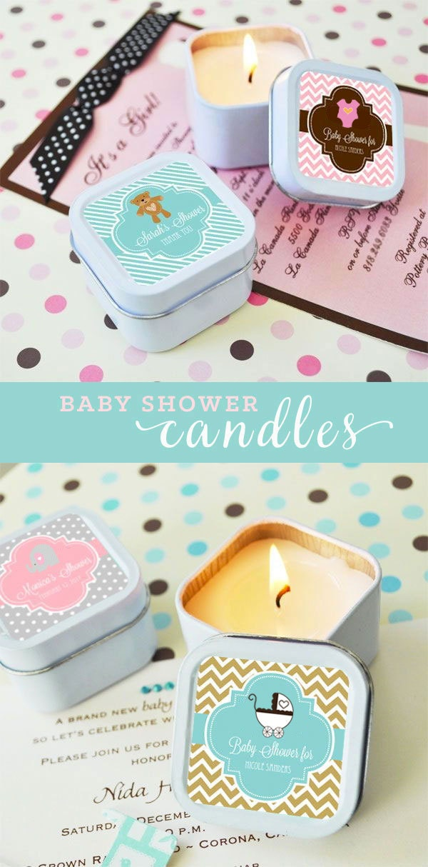 Baby Shower Favors Discount ~ Baby shower favor candles favors girl