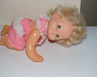Baby That A Way by Mattel 1974 Crawling Doll