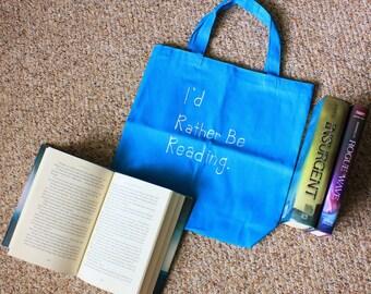 Book Bag // Library Bag // Bookish Tote