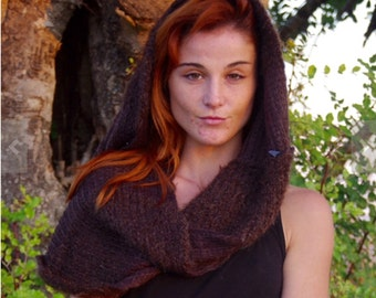 Knit Cowl Scarves Shawl Womens Winter Scarves Infinity Scarves Winter Scarves Brawn Scarf Scarves For Women Unique Scarves Knitted Scarves