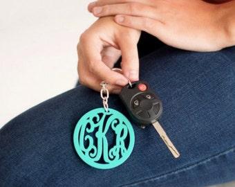 Monogrammed Wholesale Boutique Acrylic Keychain