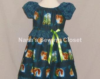 The Good Dinosaur Inpsired Dress/Ready to Ship