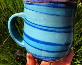 SALE: Violet & Cosmos Mug