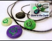 Illidari Necklace, Demon Hunter, Legion Inspired, Multiple Colors + Glow in the Dark Available