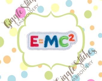 Relativity Feltie Embroidery Design