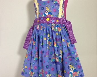 Alice in Wonderland pinafore dress