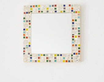 Square Mosaic Mirror